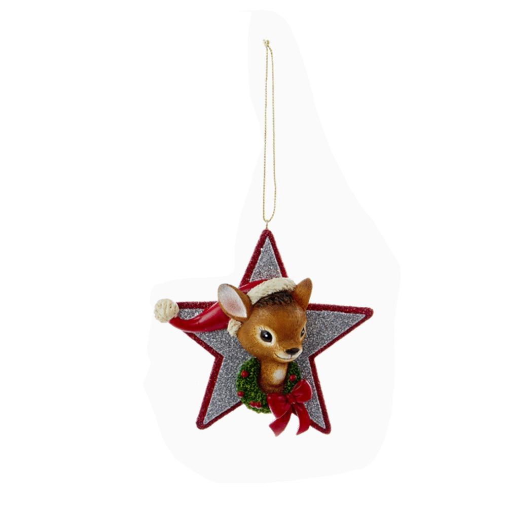 Deer Star Ornament