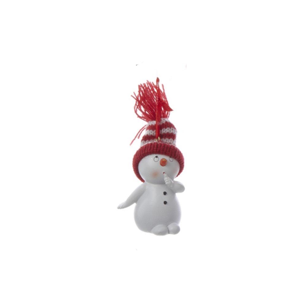 Shhh Snowman Ornament