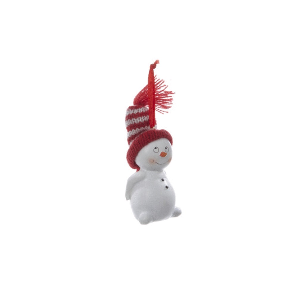 Hands In Back Snowman Ornament