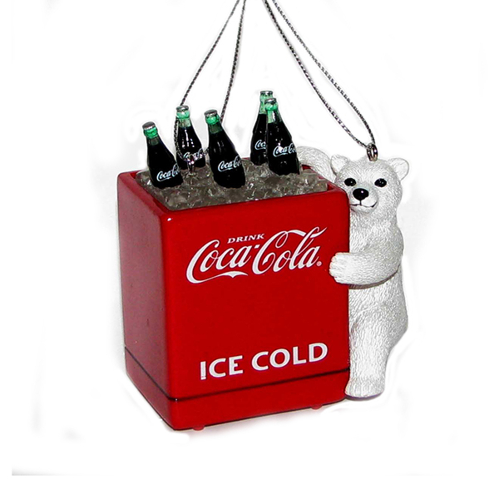 Coke Bear With Cooler