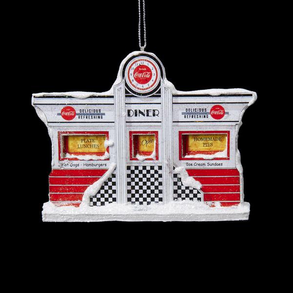 Coca Cola Diner Ornament
