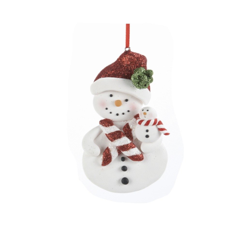 Snowman With Candycane