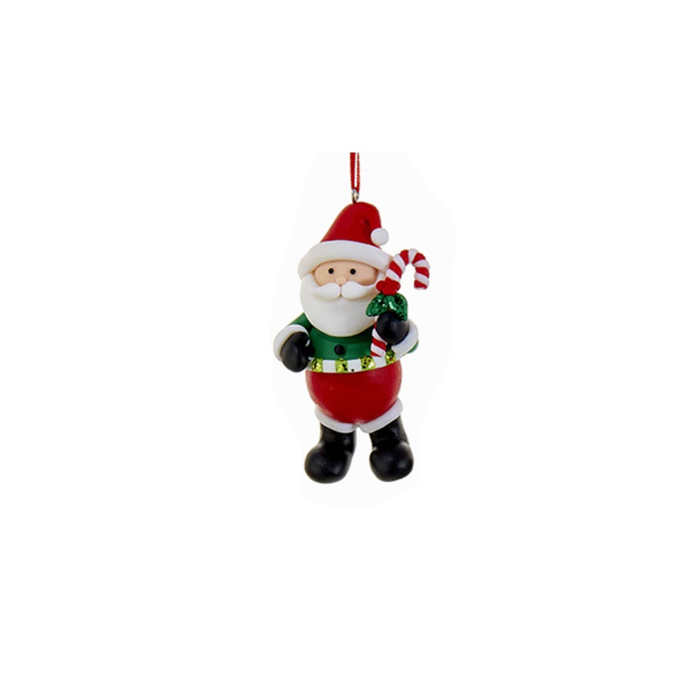 Santa With Candycane