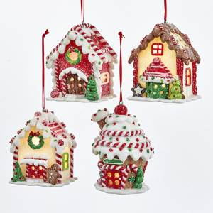 Glaydough Gingerbread LED house