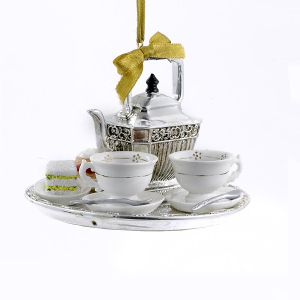 Downton Abbey Teapot Set Ornament