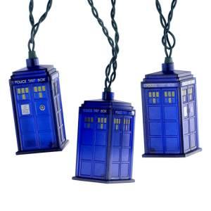 Doctor Who Blue Tardis Light Set