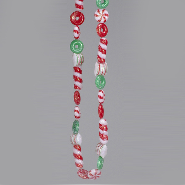 Red And Green Candy Garland