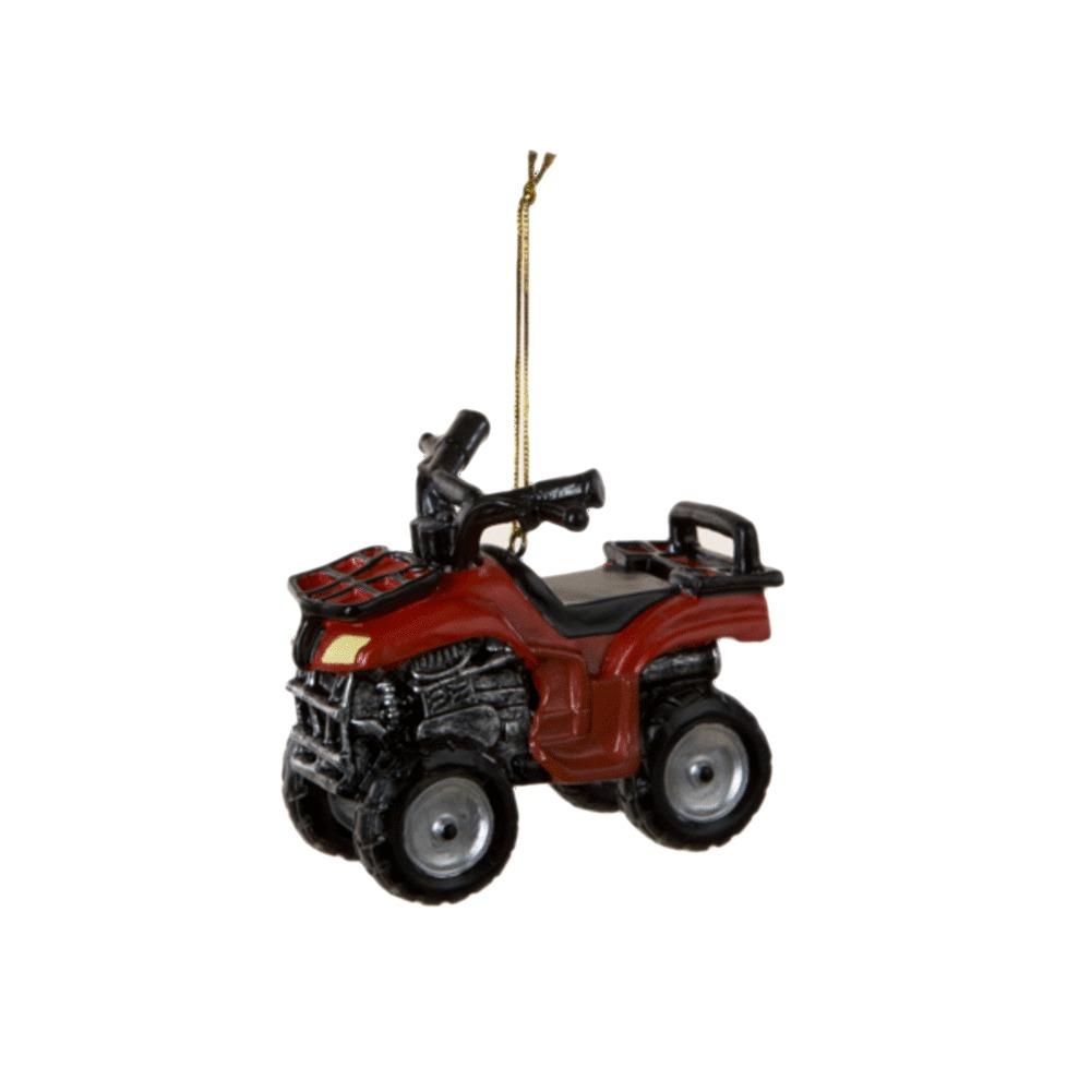 Red ATV Ornament