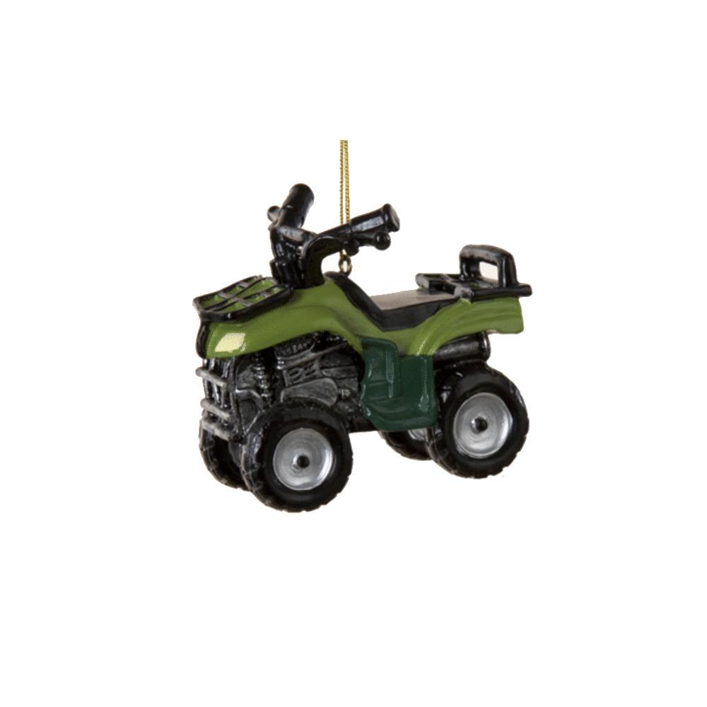 Green ATV Ornament