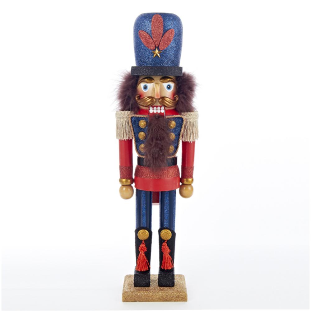 Red Blue King Nutcracker