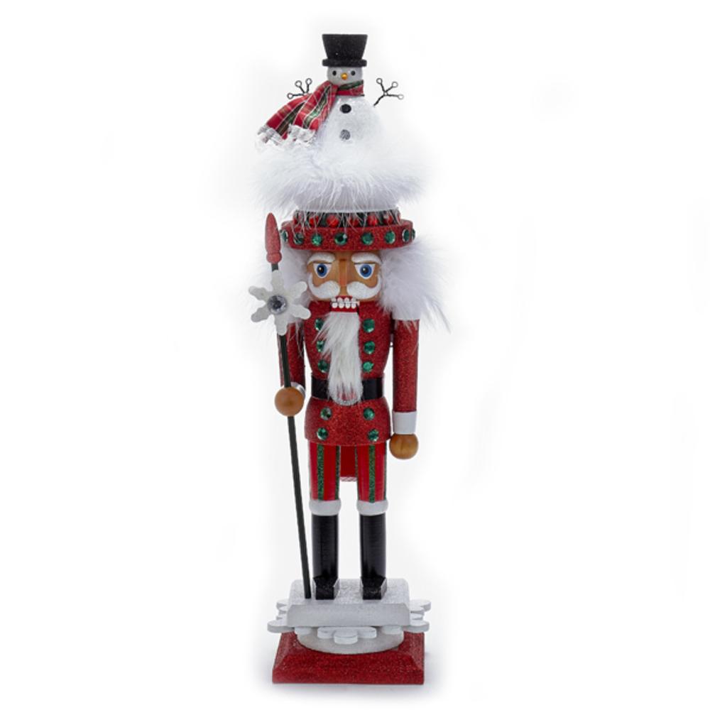 Red Snowman Hat Nutc