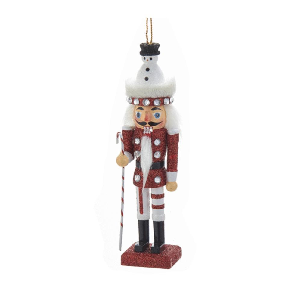 Red Snowman Nutcra