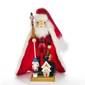 Hollywood Santa with House Nutcracker