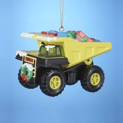 Tonka Truck Yellow