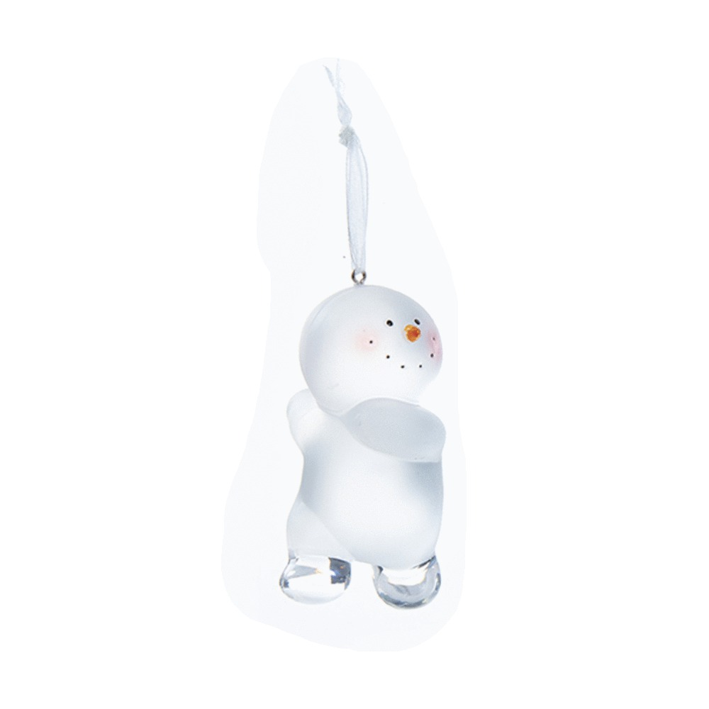 Dancing Snowman Ornament