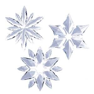 Purple and Blue Snowflake