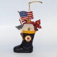 Fireman Boot Ornament