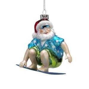 Glass beach Santa