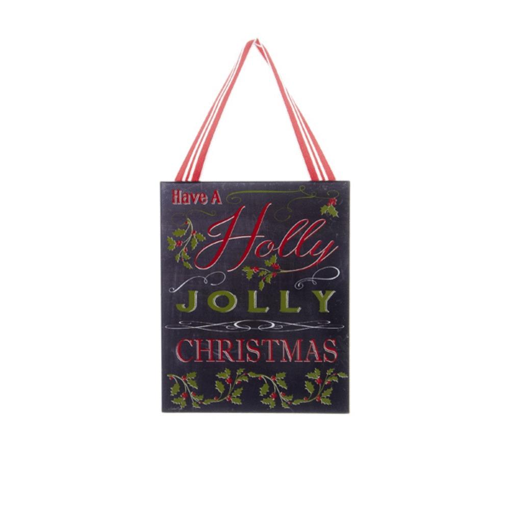 Holly Jolly Xmas Sign