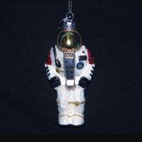 Astronaut Glass Ornament