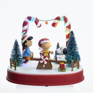 Peanuts Musical Animated Table piece