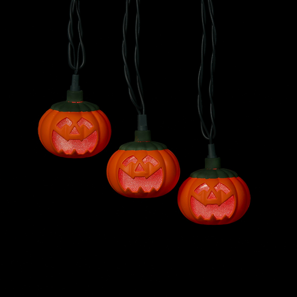 Kurt adler ul pumpkin led string