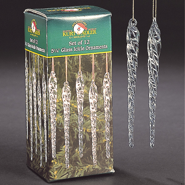 Twisted Icicles Set of 12