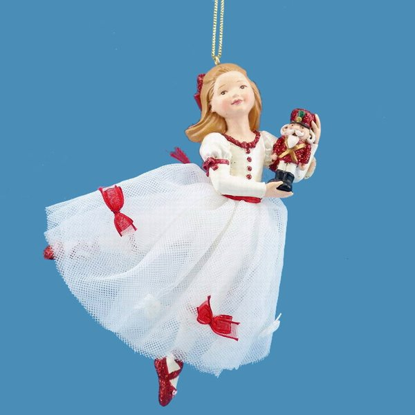 Kurt Adler W20006 Clara Nutcracker Ornament