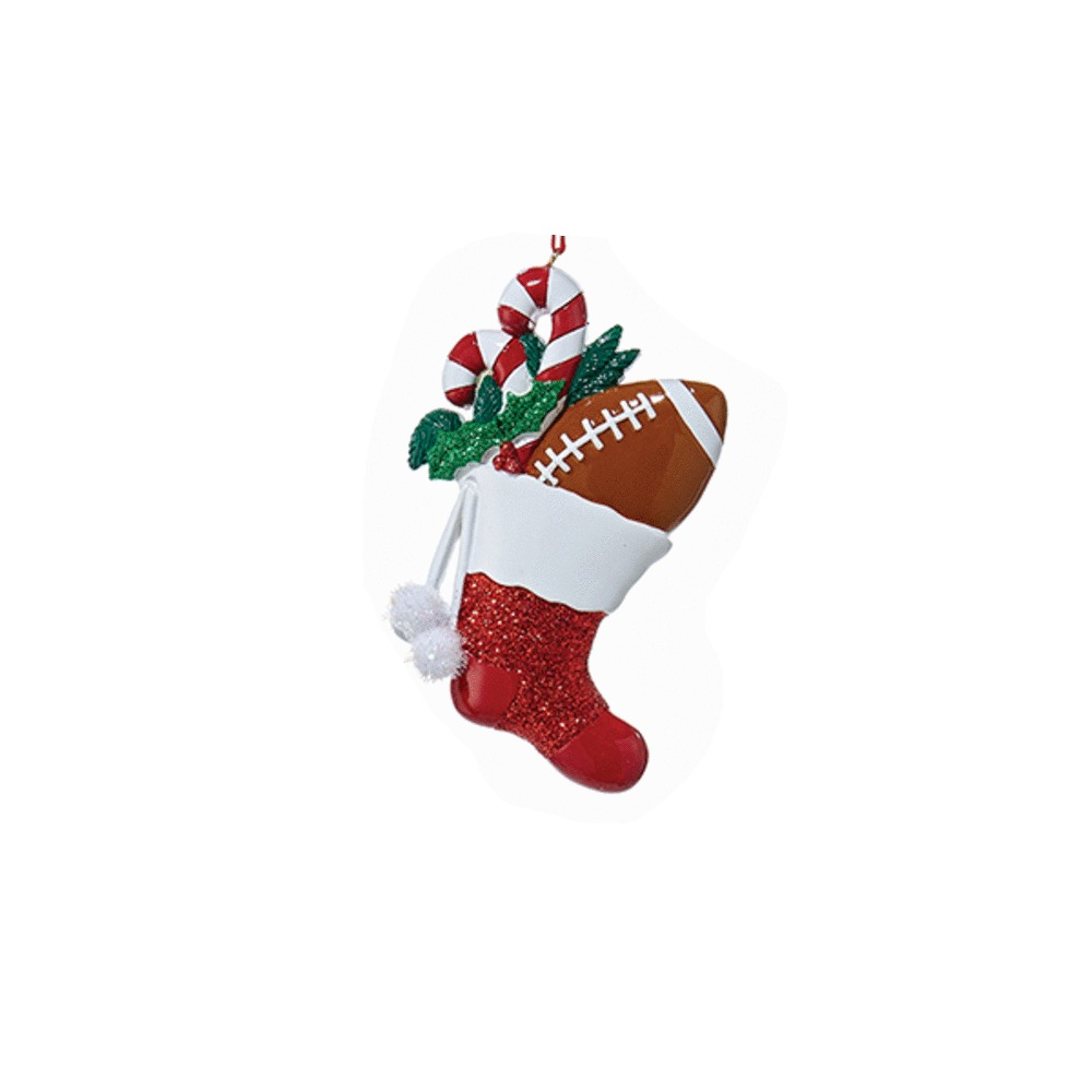 Football Stocking Ornament