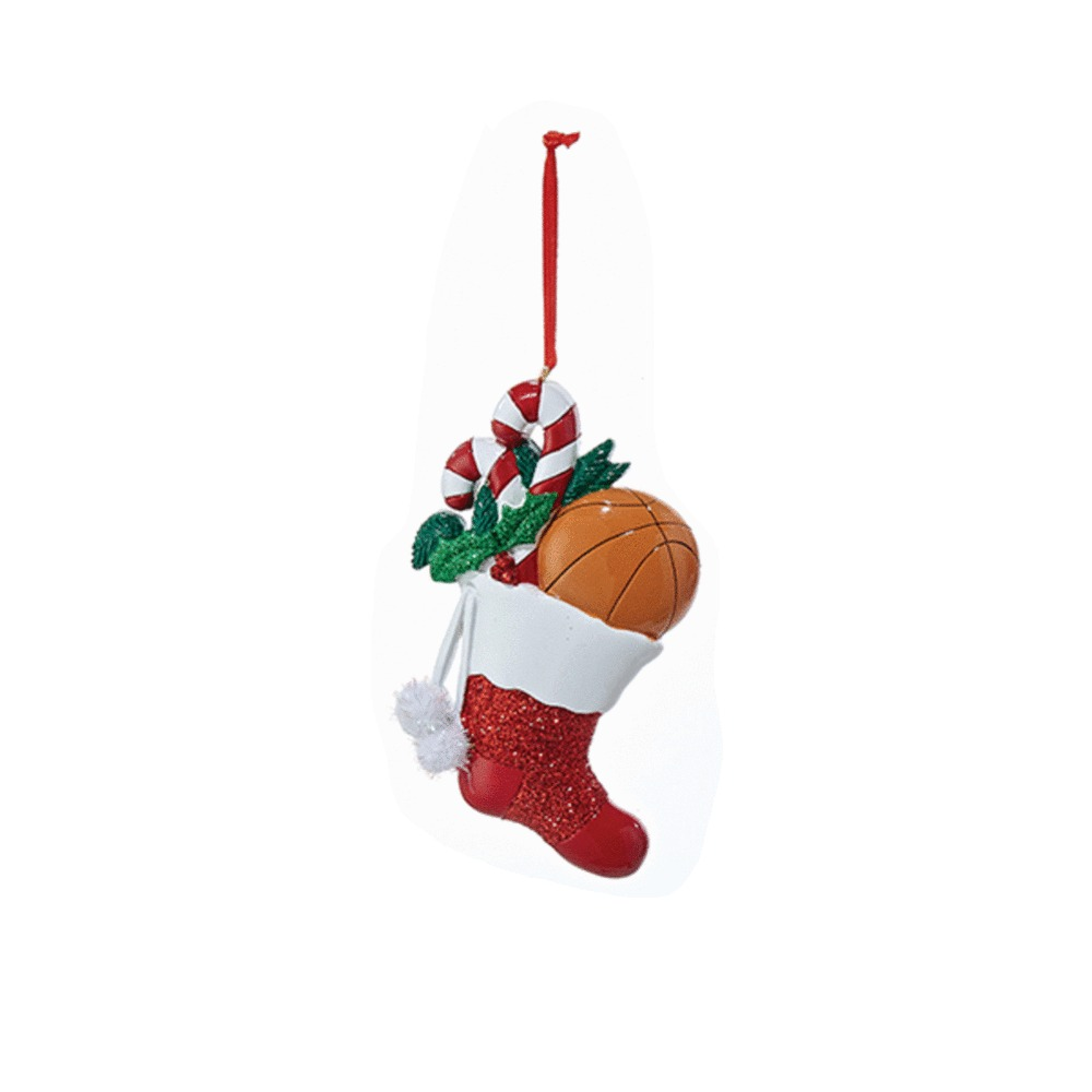 Basketball Stocking Ornament