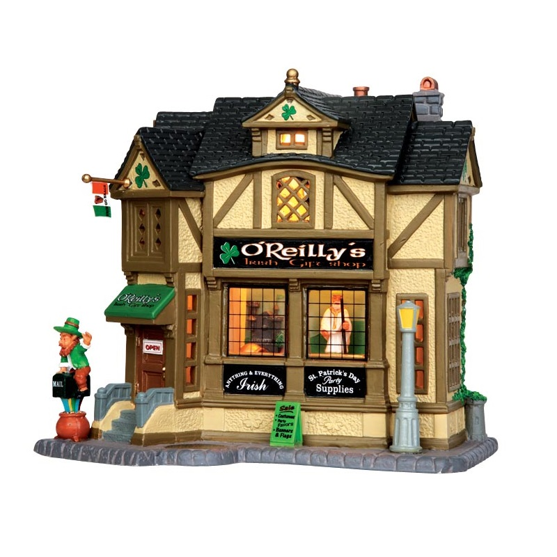 O'Reilly's Irish Gift Shop - By Lemax