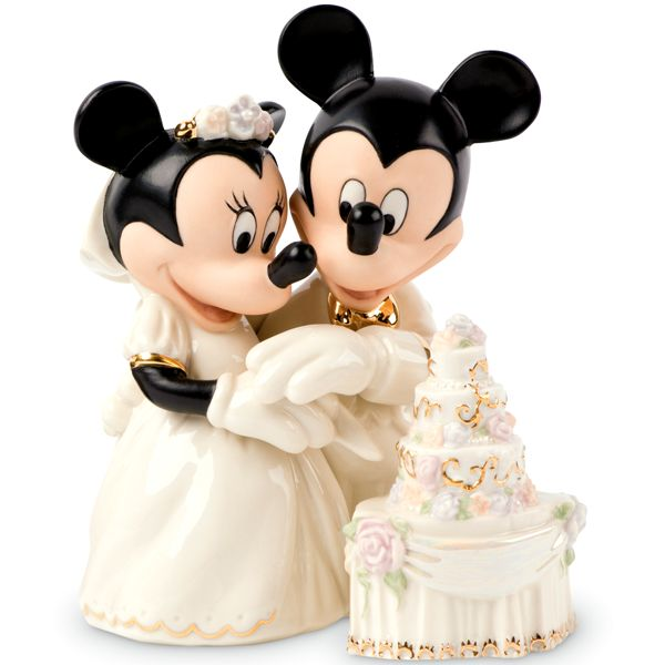 LENOX CLASSICS 790432 Minnie\'s Dream Wedding Cake