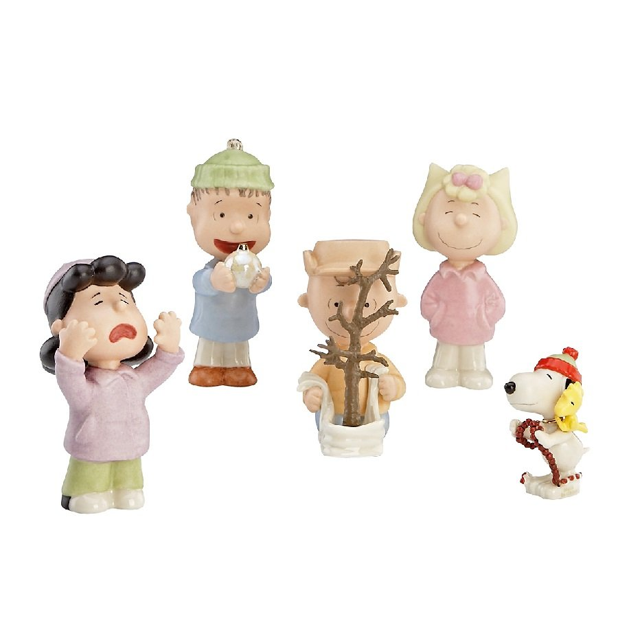 That's What Christmas is All About Charlie Brown, 5 Piece Set