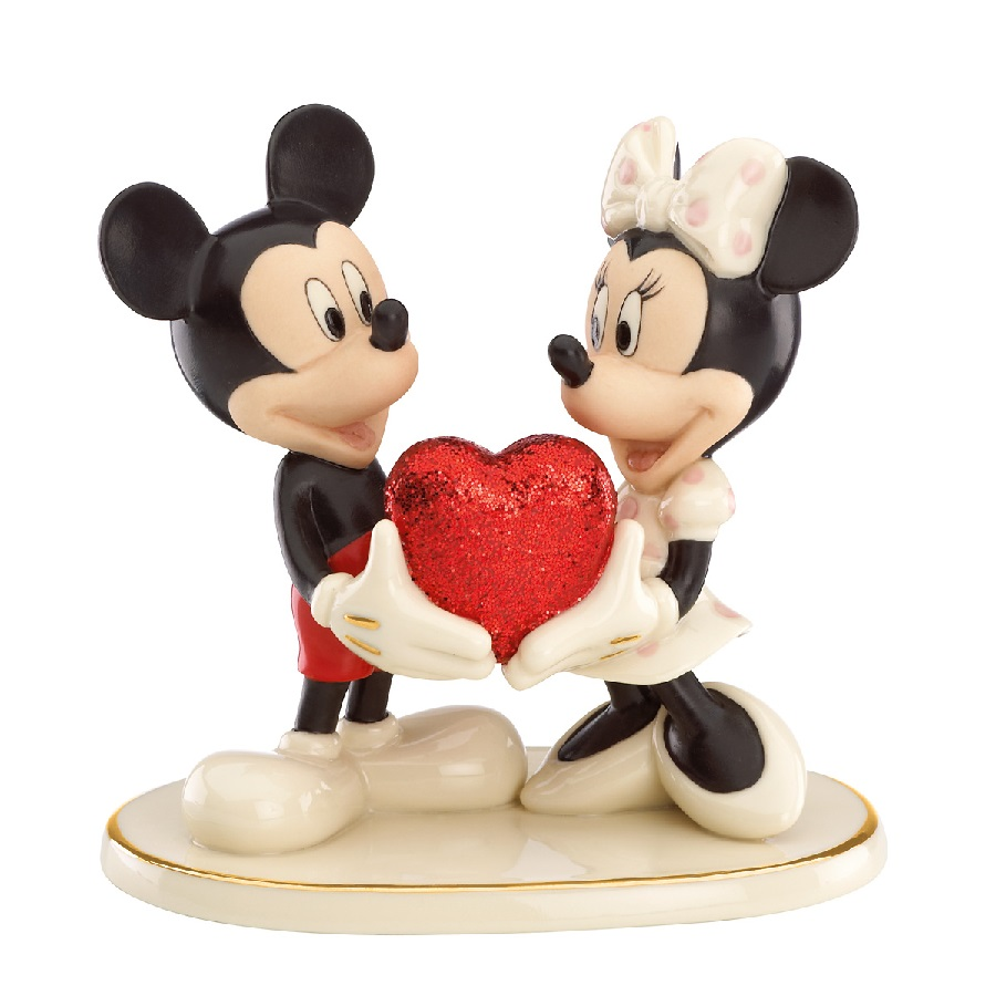 Sweethearts Forever - Mickey and Minnie with Heart