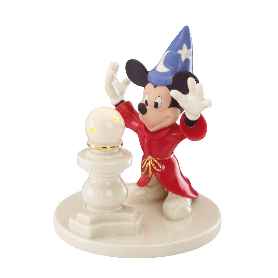 Mickey's Sorcerer Lit Sculpture