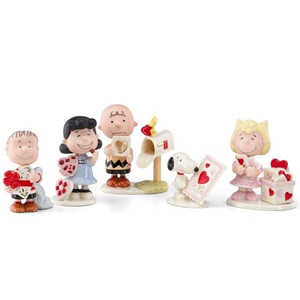 Peanuts Valentine - Set Of Five