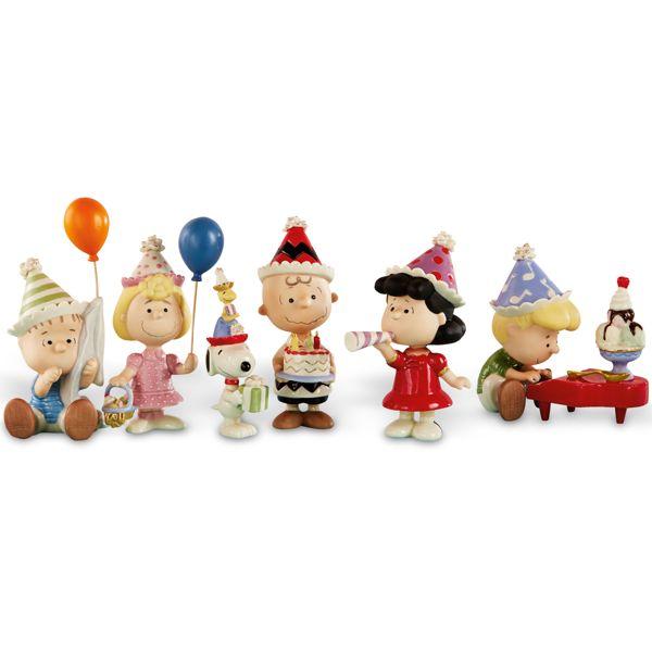 Peanuts Birthday - Set Of Six