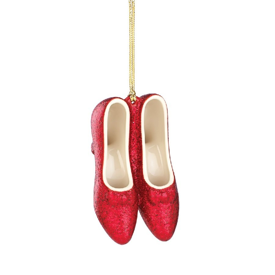 No Place Like Home - Ruby Slippers Ornament