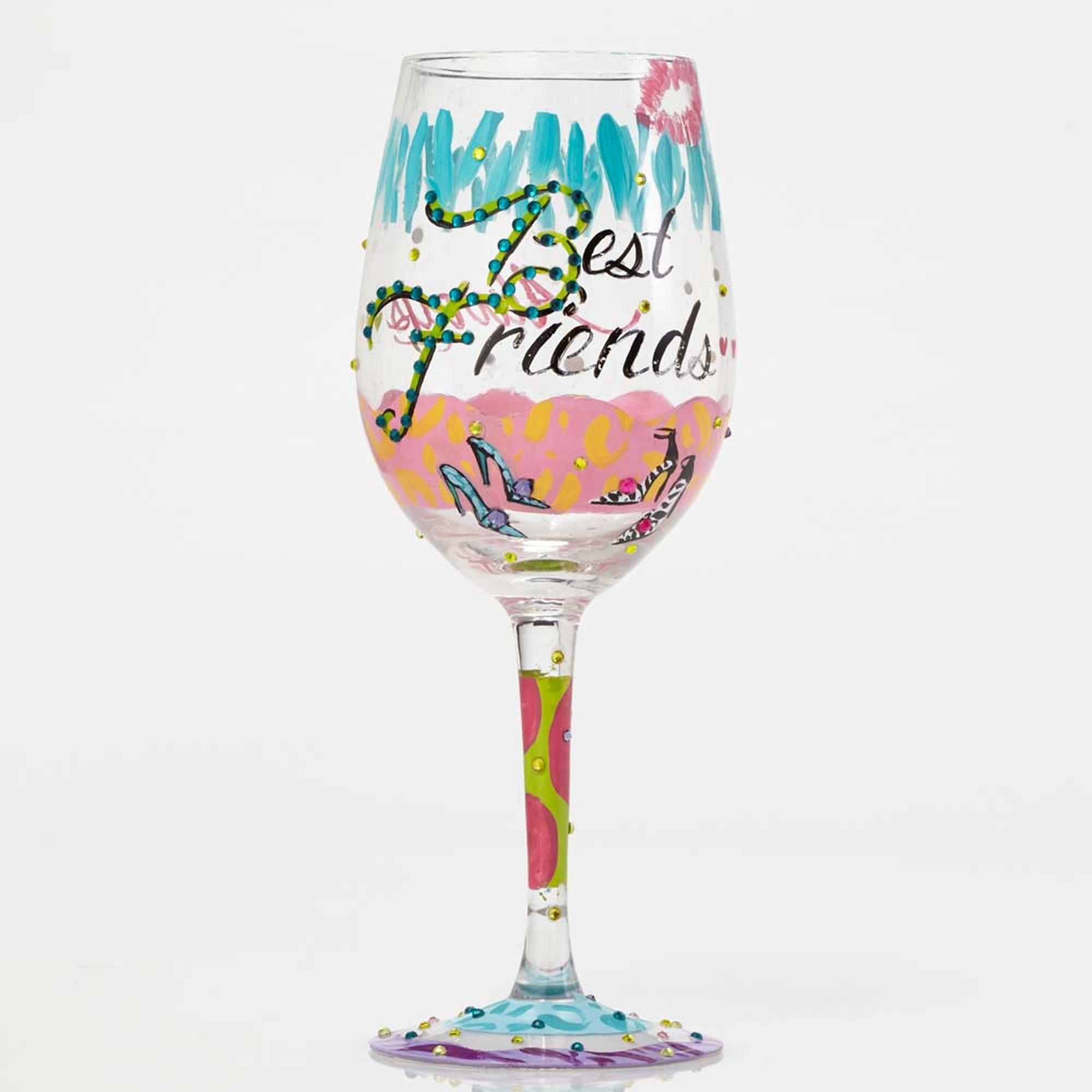 Best Friends - Wine Glass
