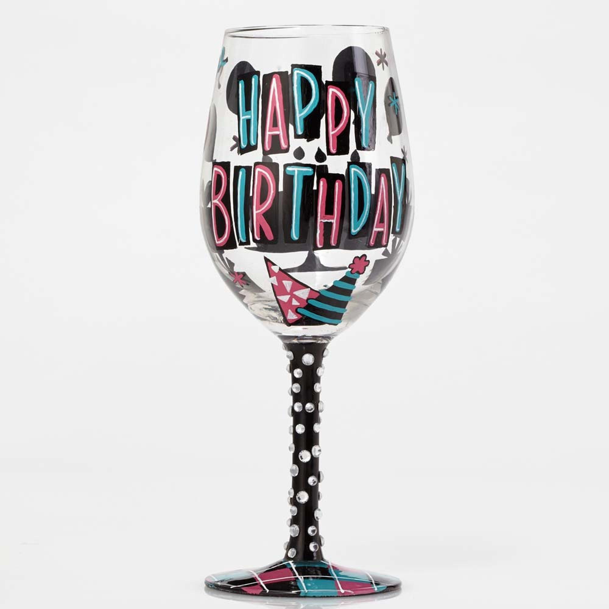 Happy Day - Wine Glass