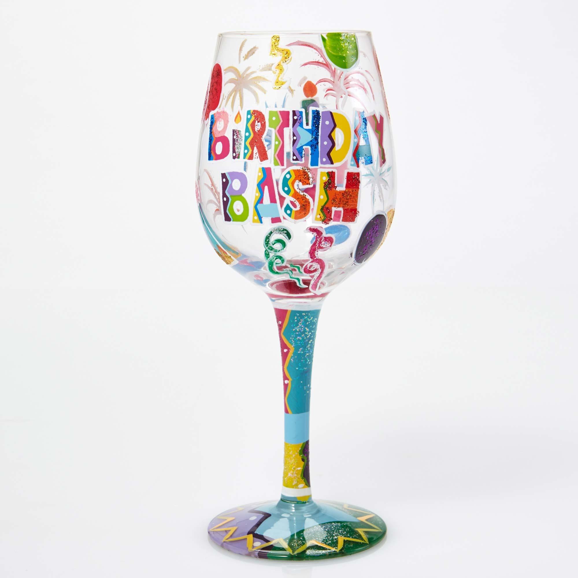 Birthday Bash - Wine Glass