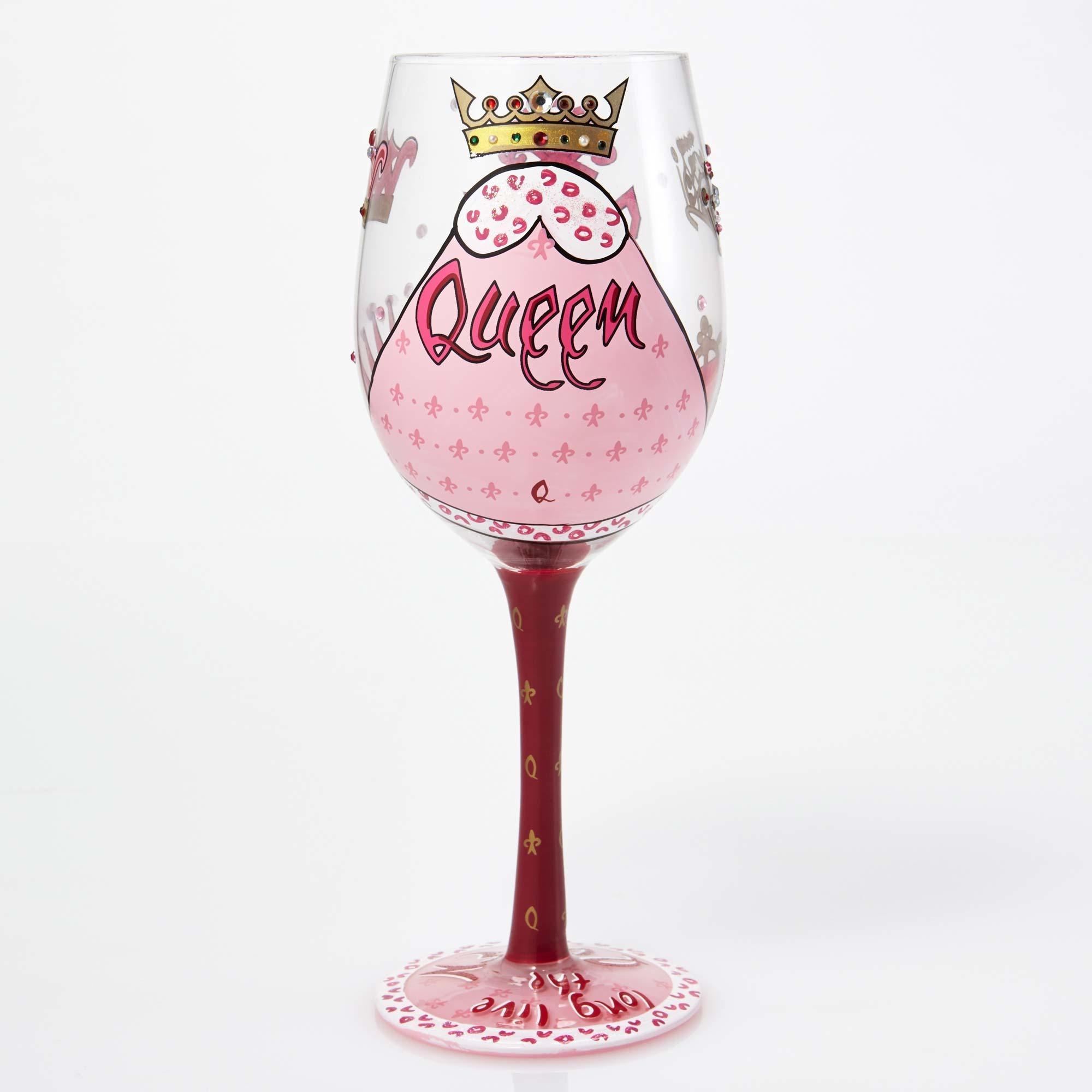 Queen - Wine Glass