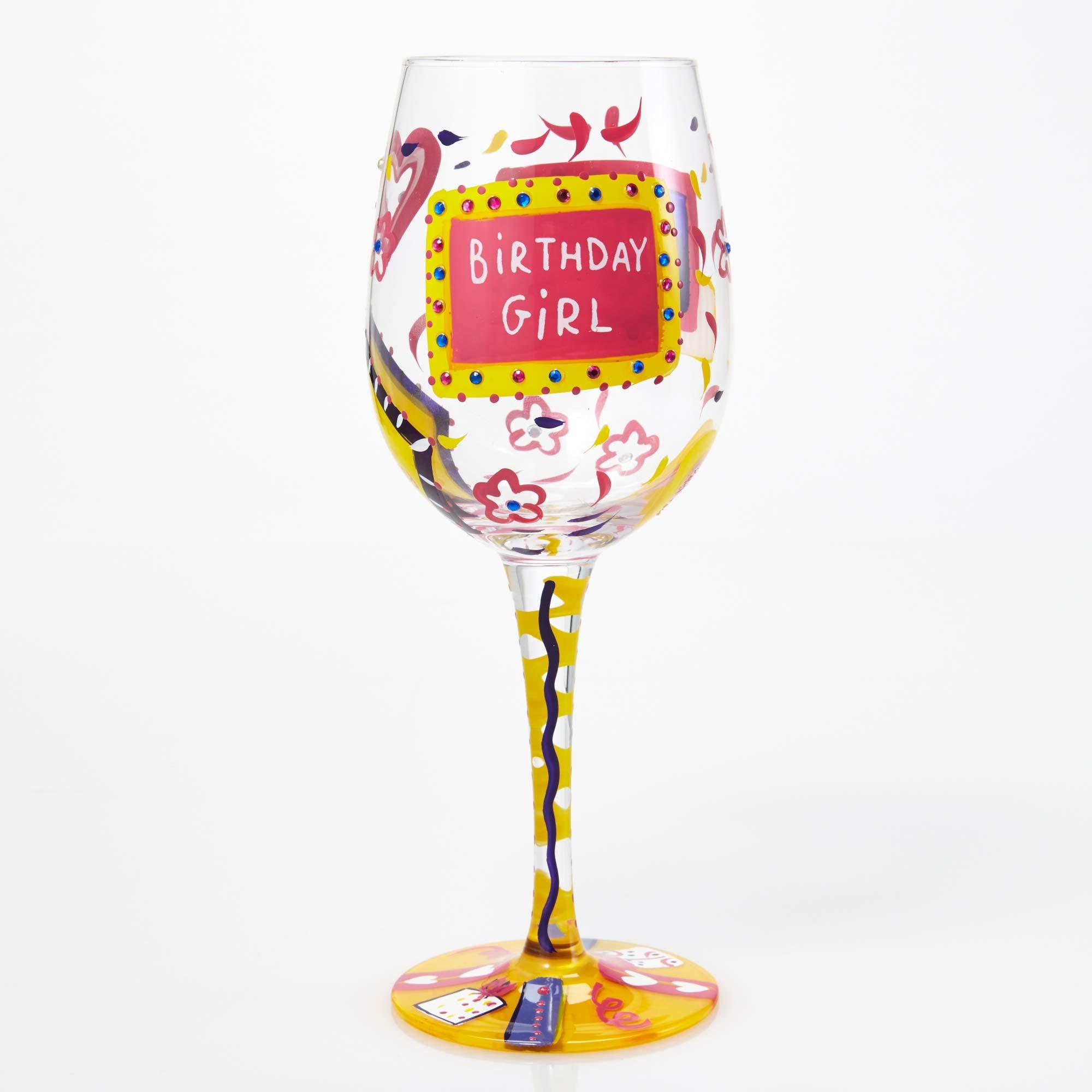 Birthday Girl - Wine Glass