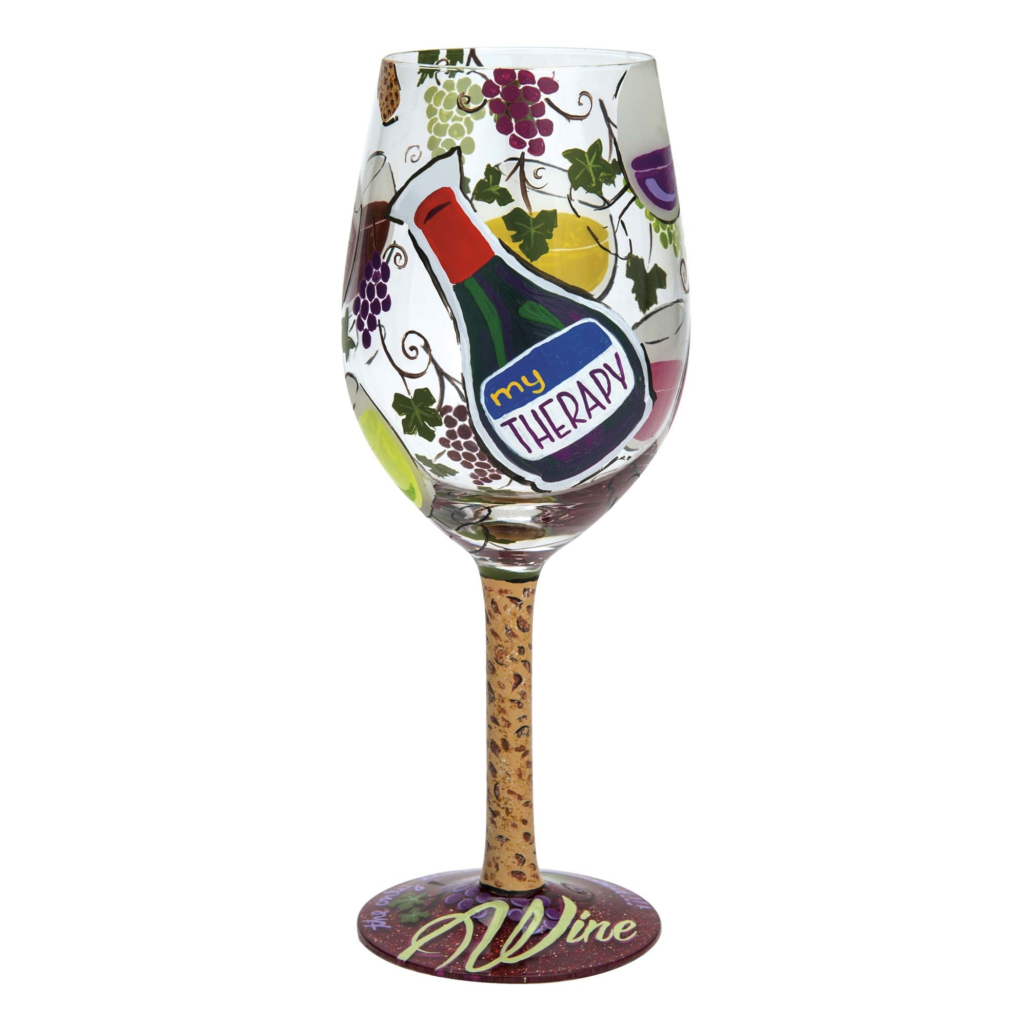 My Therapy - Wine Glass