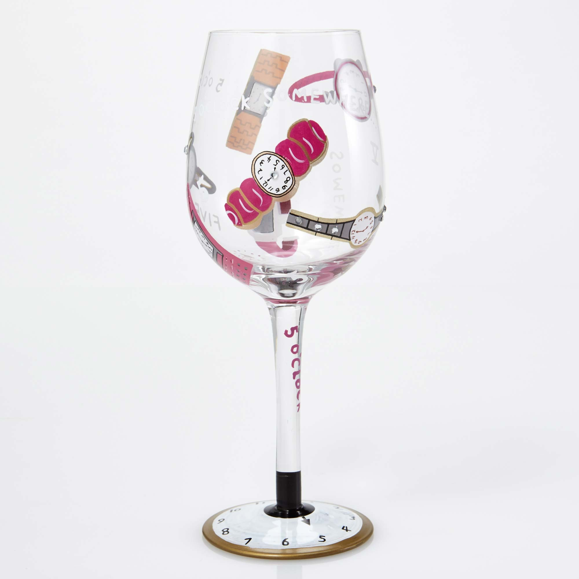 5 O' Clock somewhere - Wine Glass