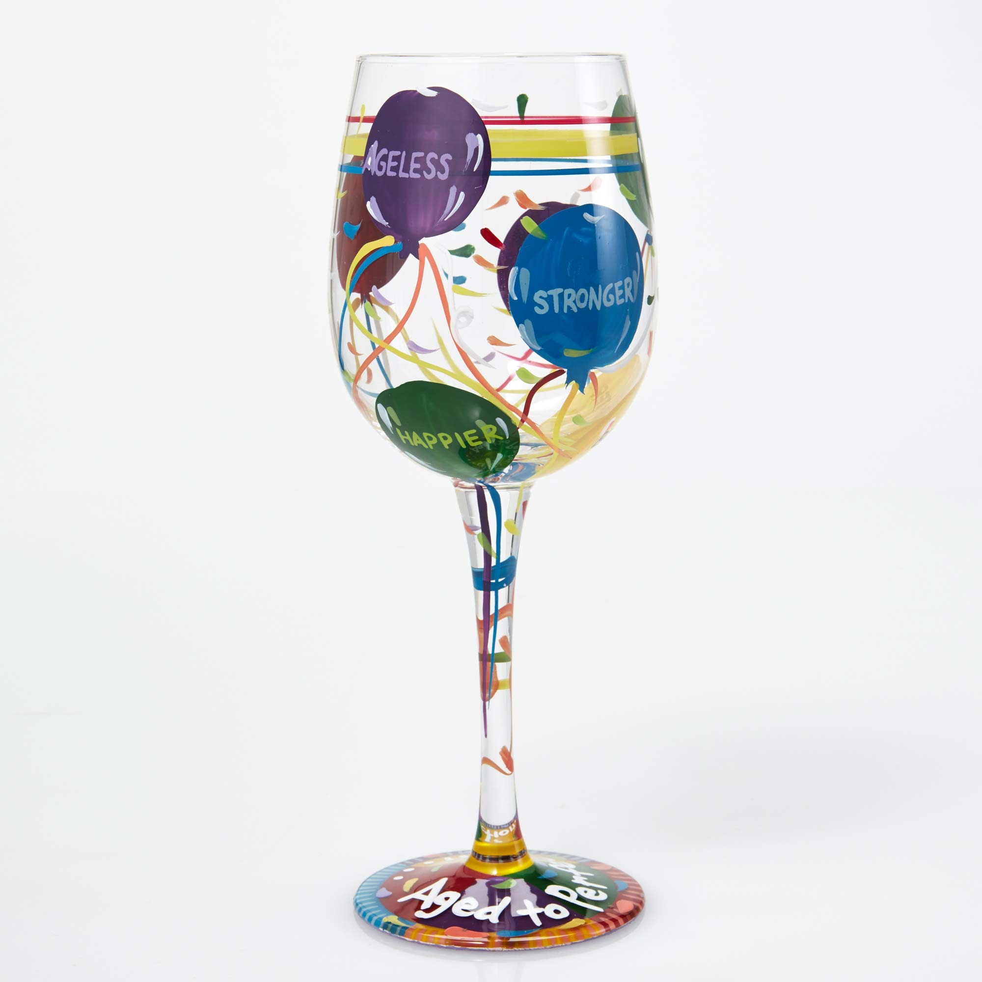 Age To Perfection - Wine Glass