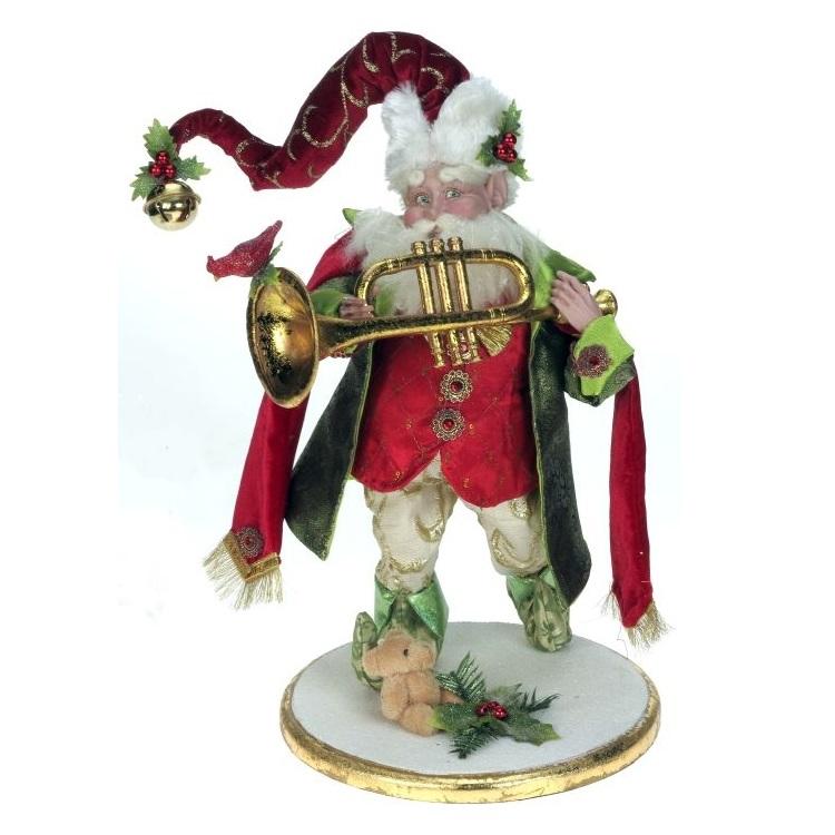 """Elf with Trumpet - 16"""""""