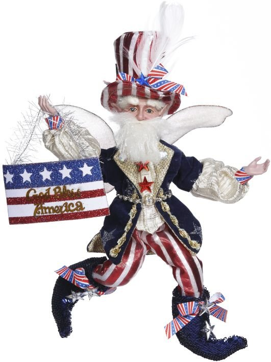 God Bless America Fairy Medium