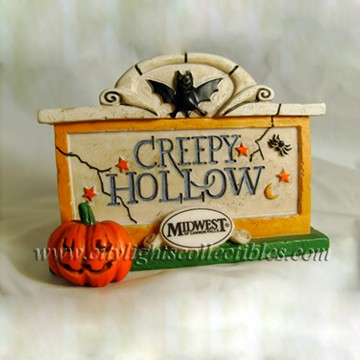 Creepy Hollow Sign