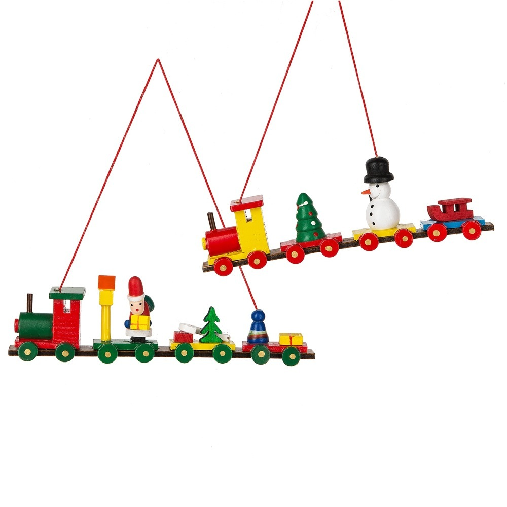 RED TRAIN ORN